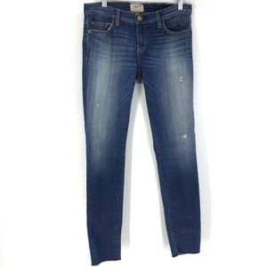 Current Elliott Sz 28 The Rolled Skinny Jeans